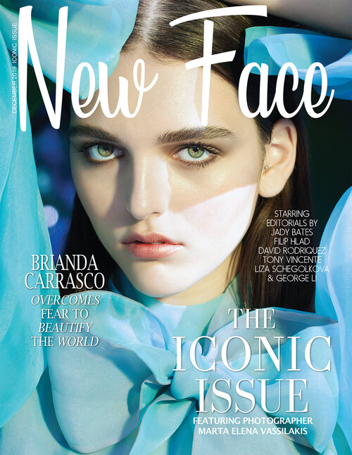 Beauty Cover for New Face Magaizine L.A.- Makeup by B. Lamelza