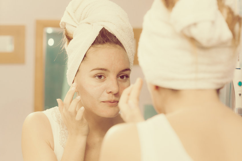 taking care of dry skin